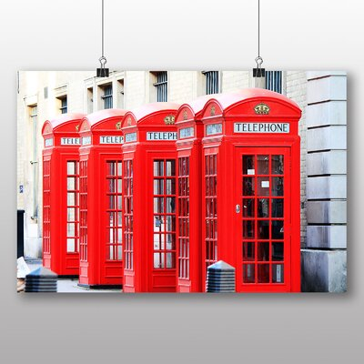 Big Box Art Old London Telephone Box Photographic Print