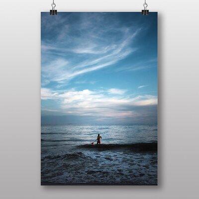 Big Box Art 'Paddling in the Ocean' Photographic Print