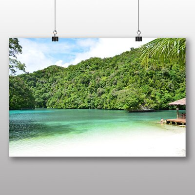 Big Box Art Palau Beach No.2 Photographic Print Wrapped on Canvas
