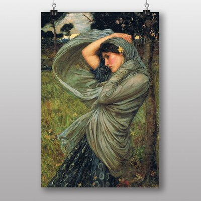 Big Box Art Boreas by John William Waterhouse Art Print