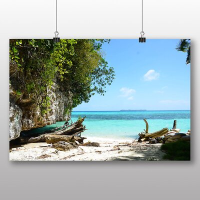 Big Box Art Palau Beach No.1 Photographic Print