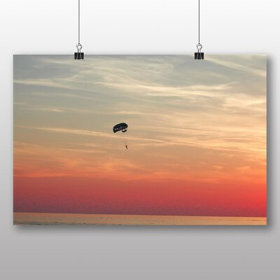 Big Box Art Parachuting Skydiving Photographic Print Wrapped on Canvas