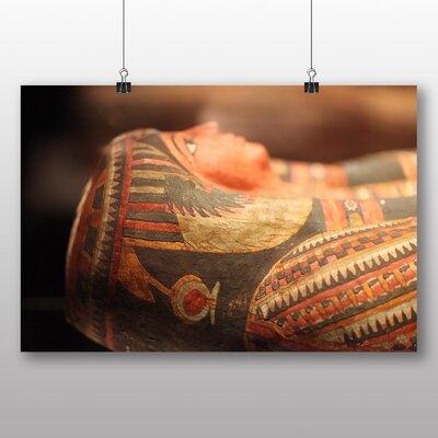 Big Box Art Mummy Egypt Photographic Print Wrapped on Canvas