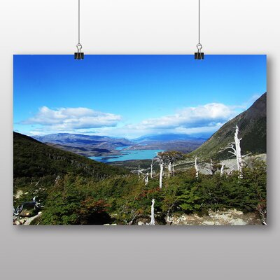 Big Box Art Patagonia Landscape Chile Photographic Print on Canvas