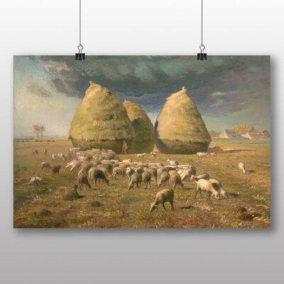 Big Box Art 'Haystacks' by Jean Francois Millet Art Print
