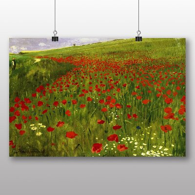 Big Box Art 'Meadow with Poppies' by Pal Merse Art Print