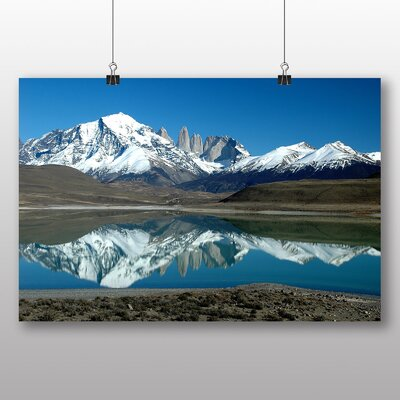Big Box Art Patagonia Argentina Photographic Print Wrapped on Canvas