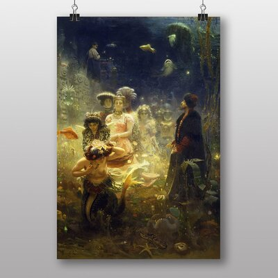 Big Box Art Sadko by Ilya Repin Art Print