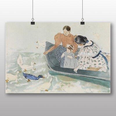 Big Box Art 'Feeding the Ducks' by Mary Cassatt Art Print