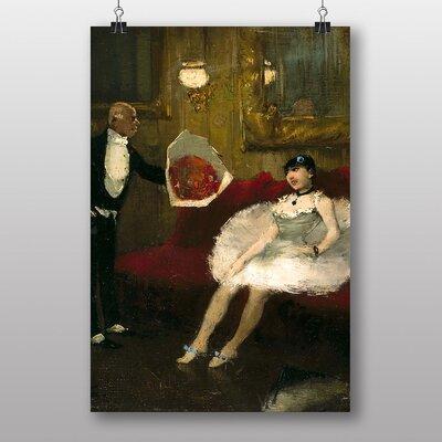 """Big Box Art """"The Admirer"""" by Jean-Louis Forain Art Print"""