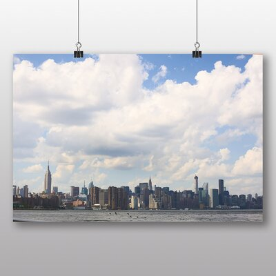 Big Box Art 'New York City River' Photographic Print