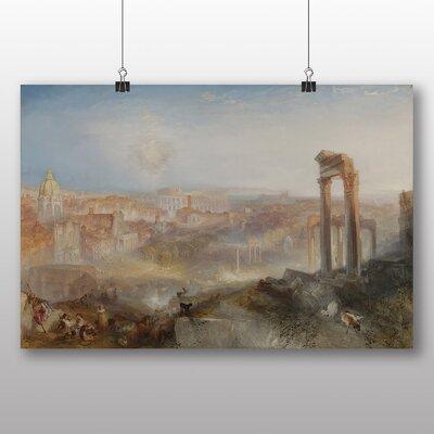 Big Box Art 'Modern Rome Campo Vaccino' by Joseph Mallord William Turner Art Print