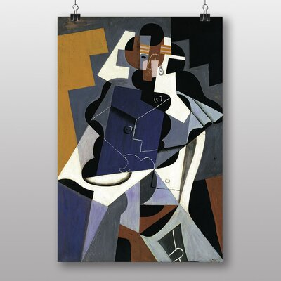 Big Box Art Man and Woman by Juan Gris Art Print