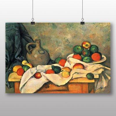 Big Box Art 'Still Life No.2' by Paul Cezanne Art Print