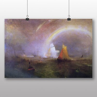 Big Box Art 'The Wreck Buoy' by Joseph Mallord William Turner Art Print