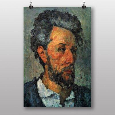Big Box Art Self Portrait by Paul Cezanne Art Print