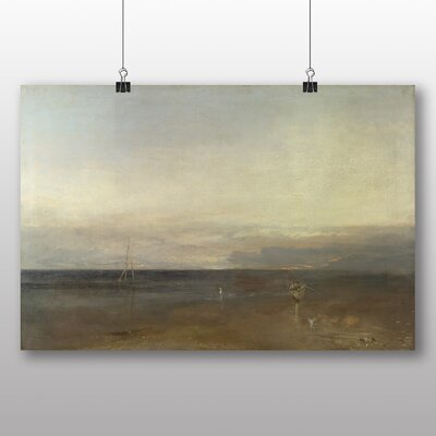 Big Box Art 'The Burning of the House of Lords Landscape No.2' by Joseph Mallord William Turner Art Print