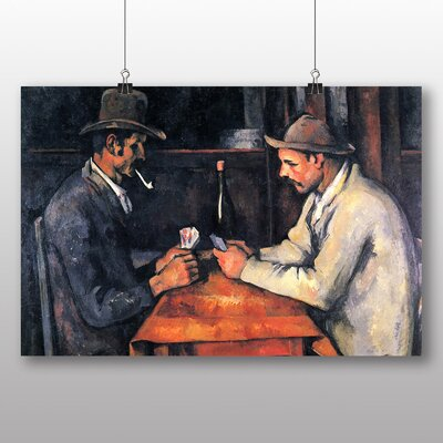 Big Box Art 'The Card Players No.1' by Paul Cezanne Art Print
