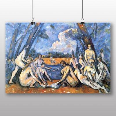 Big Box Art 'The Bathers No.2' by Paul Cezanne Art Print