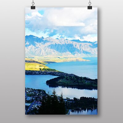 Big Box Art New Zealand Scenery No.2 Photographic Print Wrapped on Canvas
