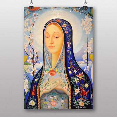 Big Box Art The Virgin by Joseph Stella Art Print