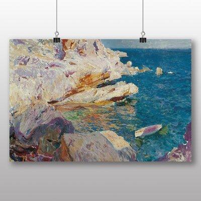Big Box Art 'Sea Cliffs' by Joaquin Sorolla Y Bastida Art Print