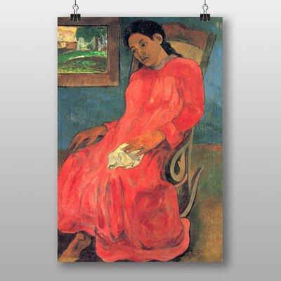 Big Box Art Seated Woman No.2 by Paul Gauguin Art Print