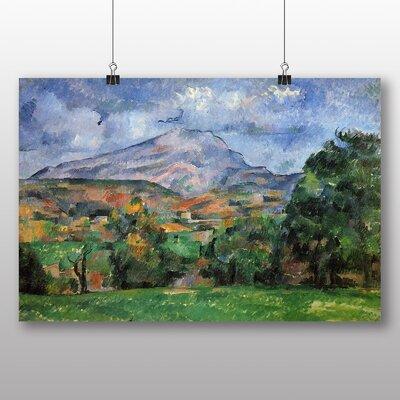 Big Box Art 'Montagne Sainte Victoire No.2' by Paul Cezanne Art Print