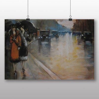 Big Box Art 'Berlin Street No.2' by Lesser Ury Art Print