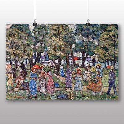 Big Box Art 'Under the Trees' by Maurice Prendergast Art Print