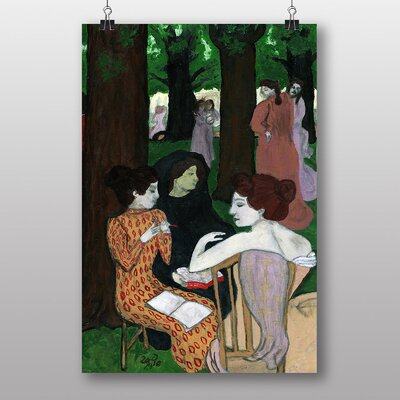 """Big Box Art """"The Muses"""" by Maurice Denis Art Print Wrapped on Canvas"""