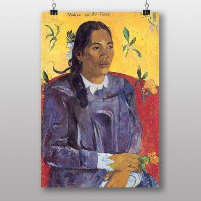 "Big Box Art ""Seated Woman No.3"" by Paul Gauguin Art Print"