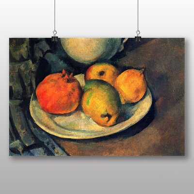 Big Box Art 'Still Life No.12' by Paul Cezanne Art Print