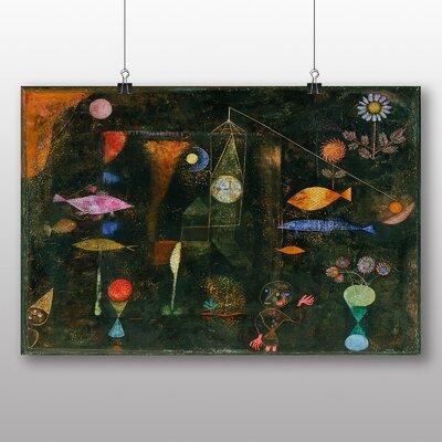 Big Box Art 'Fish Magic' by Paul Klee Art Print