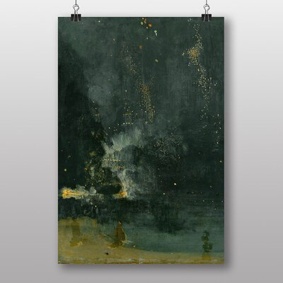 "Big Box Art ""Nocturne in Black and Gold"" by James McNeill Whistler Art Print"