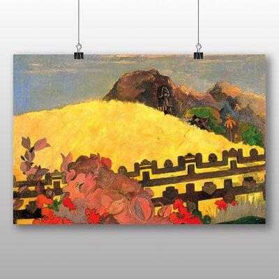 Big Box Art 'Landscape' by Paul Gauguin Art Print