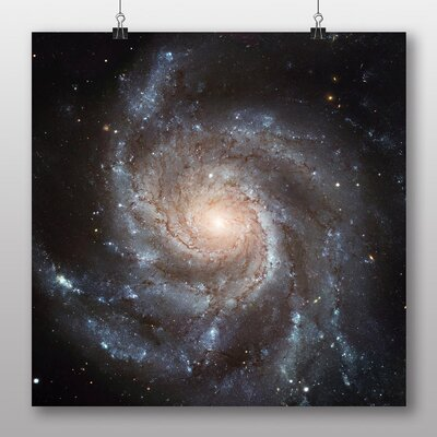 Big Box Art Messier Space Graphic Art Wrapped on Canvas