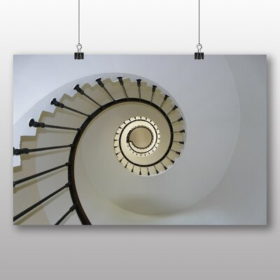 Big Box Art Lighthouse Staircase Graphic Art