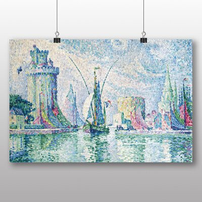 Big Box Art 'Green Towers the Rochelle' by Paul Signac Art Print