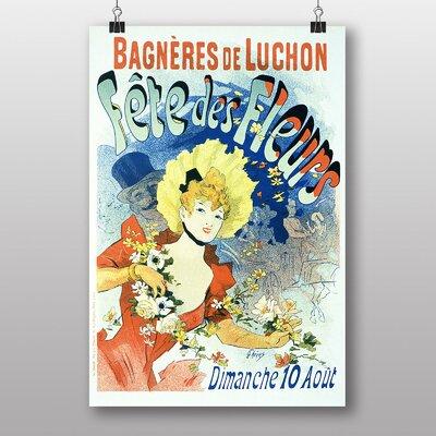 Big Box Art 'Artwork No.8' by Jules Cheret Vintage Advertisement