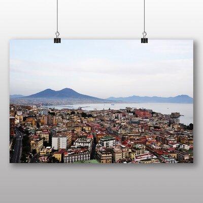 Big Box Art Mt Vesuvius Naples Italy Photographic Print