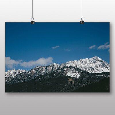 Big Box Art 'Landscape Mountain and Blue Sky' Photographic Print