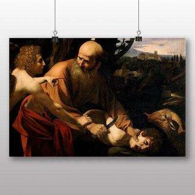 Big Box Art 'Sacrifice of Isaac' by Michelangelo Caravaggio Art Print