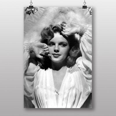 Big Box Art Judy Garland No.3 Photographic Print on Canvas