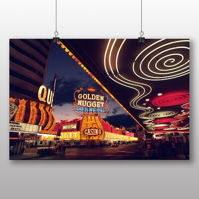 Big Box Art Las Vegas Strip Skyline Nevada USA No.9 Photographic Print