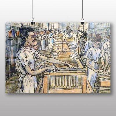Big Box Art 'Candle Factory' by Jan Toorop Art Print