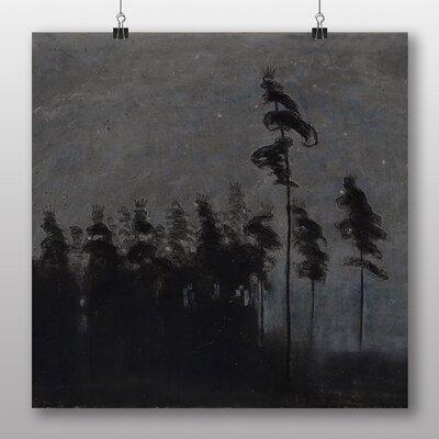 Big Box Art 'Moonlit Forest' by Mikalojus Konstantinas Ciurlionis Art Print