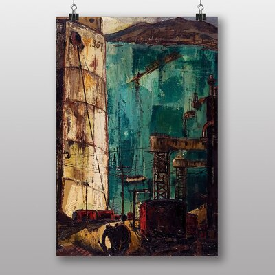 Big Box Art The Port by Karlis Padegs Art Print