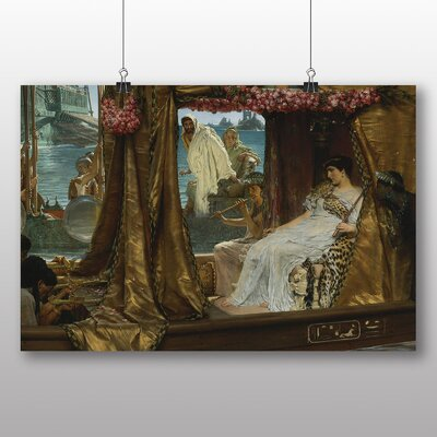 Big Box Art 'The Meeting of Anthony and Cleopatra' by Lawrence Alma Tadema Art Print