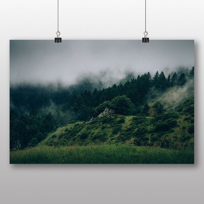 Big Box Art 'Misty Forest No.2' Photographic Print